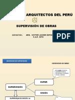 Supervision de Obras Arq Espino Julio  2014