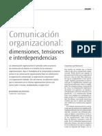 Comunicación Organizacional_dimensiones_tensiones_interdependencias