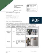 OFICIO N° 0625 INFORME LINEAMIENTOS GESTION HUMANA