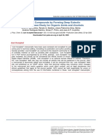 Liquefying Compounds by Forming Deep Eutectic Solvents- A Case Study for Organic Acids and Alcohols