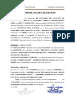 Contrato de Locación Aistente Técnico Orejas