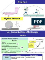 Física I. Algebra Vectorial