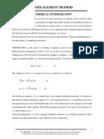 2A-FEM-Gaussian Quadrature Rule