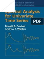 (Cambridge Series in Statistical and Probabilistic Mathematics) Donald B. Percival, Andrew T. Walden - Spectral Analysis for Univariate Time Series-Cambridge University Press (2020).pdf