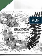 Ergonomía aplicada en el trabajo y el diseño industrial