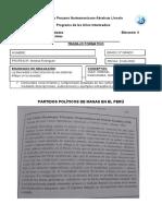 TRABAJO FORMATIVO Partidos de Masas Leguía