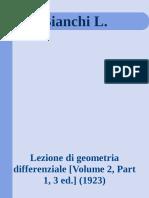Bianchi L_ - Lezione di geometria differenzi
