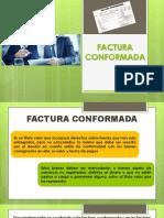 FACTURA CONFORMADA EXPOSICIÓN