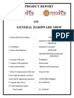 1 GENERAL SHOP OF HARDWARE