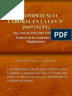 LA COMPETENCIA LABORAL NLPT - Omar Toledo Toribio