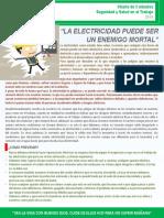 9. La electricidad puede ser un enemigo mortal