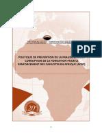 POLITIQUE DE PREVENTION FRAUDE ET CORRUPTION de l'ACBF.pdf