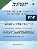RESUMEN LINEAMIENTOS PROYECTO DE GRADO