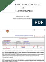 PCA CIENCIAS SOCIALES 4 EGB