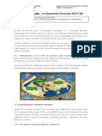 Guía de Estudio La expansión europea s. XV