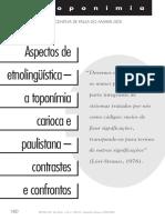DICK-2002-2003- ETNOLINGUÍSTICA-TOPONÍMIA CARIOCA E PAULISTANA
