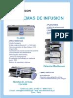 brochure bomba de infusion Daiwha DI-4000