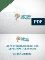 Presentación Curso Virtual Aspectos Básicos de Los Derechos Colectivos