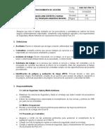 OAD-SST-PRO 14 Protocolo de actuación ante COVID19 y normas generales de Seguridad para terceros