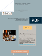 Diapositivas del trastornos en conductas adictivas