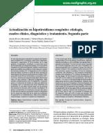 Hipotiroidismo Congénito Dx y Tx