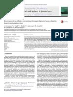 Biocomposite scaffolds containing chitosan-alginate-nano-silica for bone tissue engineering