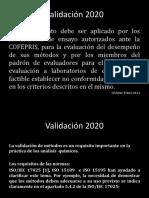 ValidACIÓN arh.2020