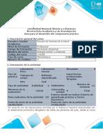 Guía Transitoria para el desarrollo del componente práctico - Laboratorio Biologia Celular y Molecular
