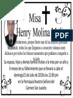 Henry Molina Molina