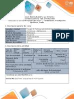 Guía para el uso de recursos educativos - Temáticas de investigación