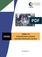 06 IWE - Tema 1.6. Introducción al Soldeo por Arco Protegido por Gas