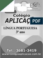 3 ANO LiNGUA PORTUGUESA