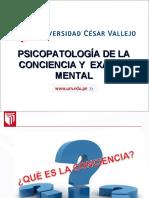 Sesión 02 - Psicopatología de la conciencia.ppt
