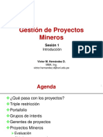 Gestion de PM S-01 Introduccion