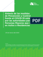 Sintesis Prevencion Control Asilos