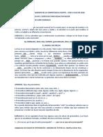TALLER DE FORTALECIMIENTO DE LA COMPETENCIA ESCRITA
