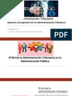 Rol de la Administración Tributaria (Repaso)