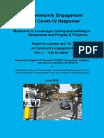 Covid-19 Transport Response Engagement 1 Report