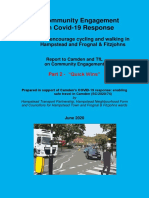 Covid-19 Transport Response Engagement 2 Report