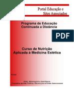 Nutrição Aplicada à Medicina Estética 01