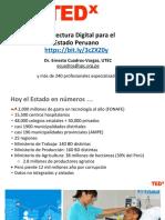 2.5 TEDxUTEC Arquitectura Estado Digital Peruano