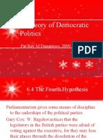 A Theory of Democratic Politics