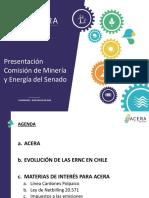 Presentación Comisión de Minería y Energía del Senado