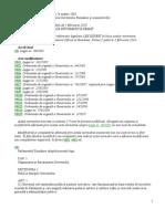 Legea Nr 90 Din 26 Martie 2001 Privind Organizarea Si Functionarea Guvernului Romaniei Si a Ministerelor