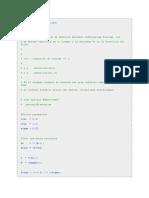 codigo matlab error cuadratico