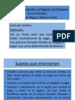 Letra de Cambio, pagare y cheque.pptx