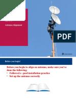 PTP 820 Technical Training_Appendix Antenna Alignment_Cambium