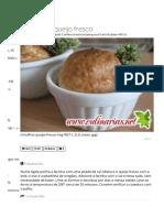 Muffins de queijo fresco _ Doces & Sobremesas