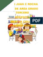 PLAN DE AREA NUEVO   GRADO TERCERO-2019