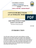 Design project presentation template